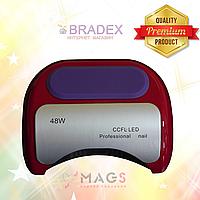 UV LED+CCFL для гель лаков и геля, гибридная лампа 48 Вт