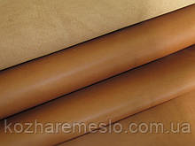 Кожа  Крэзи Хорс(Crazy Horse) коричневая КАРАМЕЛЬ 1,5-1,7 мм