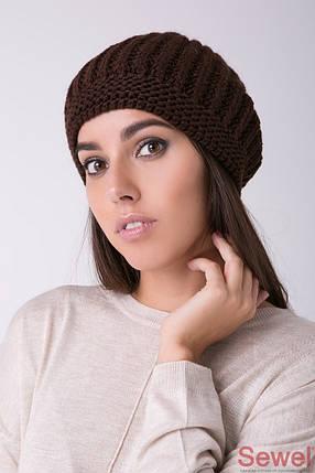Теплая зимняя женская шапка, фото 2