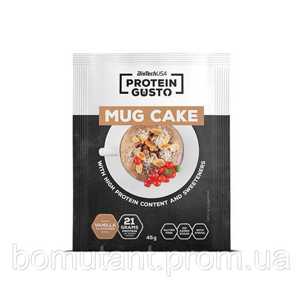 Protein Gusto Mug Cake 45 гр vanilla BioTech