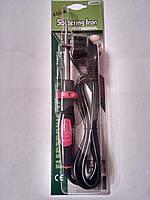 Паяльник ZD-721В, 40W, 220V, нихромовый нагреватель, евровилка