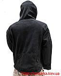 Флисовая кофта Tactical Shell с капюшоном черная, фото 2