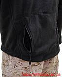 Флисовая кофта Tactical Shell с капюшоном черная, фото 4