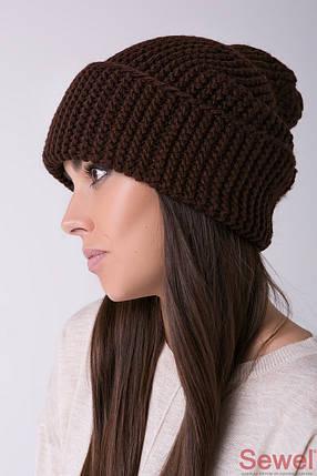Зимняя теплая женская шапка, фото 2