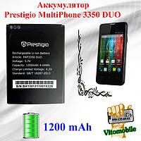 Аккумулятор оригинал Prestigio MultiPhone 3350 DUO (PAP3350) 1200 мА/час