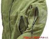 Флисовая кофта Tactical Shell с капюшоном олива, фото 4