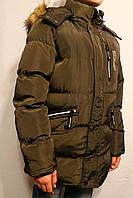 Куртки-аляски подростковые для мальчиков от 8 до 16 лет (134-164см) Фирма-S&D Венгрия.