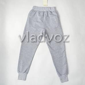 Спортивные штаны для мальчика 8 лет серые Турция, фото 2