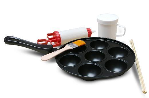 Набор для выпечки Perfect Puff - сковорода для блинов и маффинов
