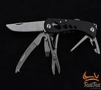 Нож туристический многофункциональный с открывалкой, пилкой, ножницами