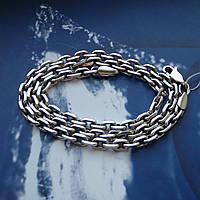 Серебряная цепочка, 600мм, 40 грамм, якорное плетение