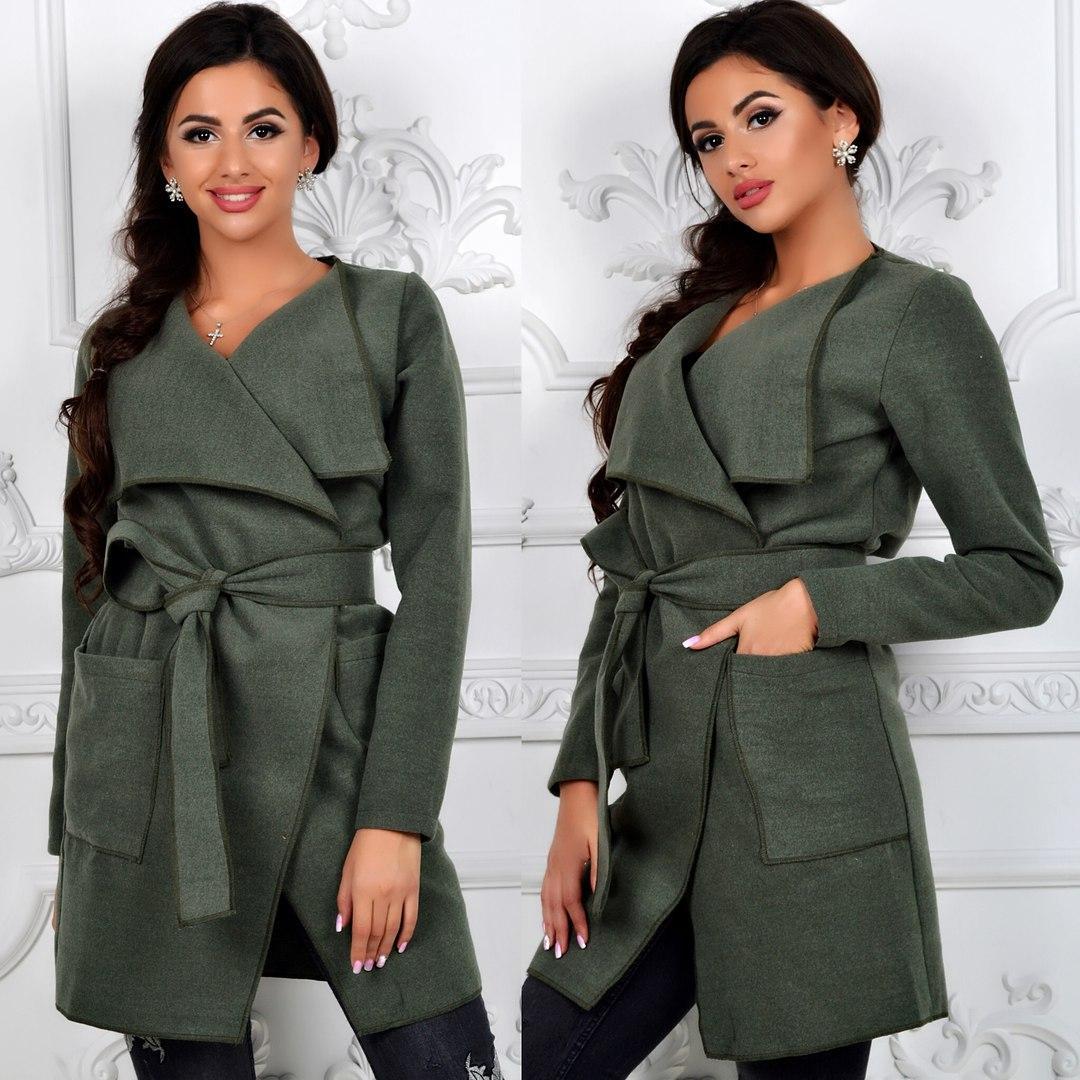 Стильное женское пальто-кардиган  продажа c77df8ce91948