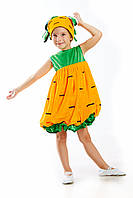Детский костюм Морковка, рост 110-125