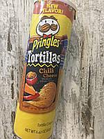 Чипсы PRINGLES Tortilla кукурузные Чили с с сыром