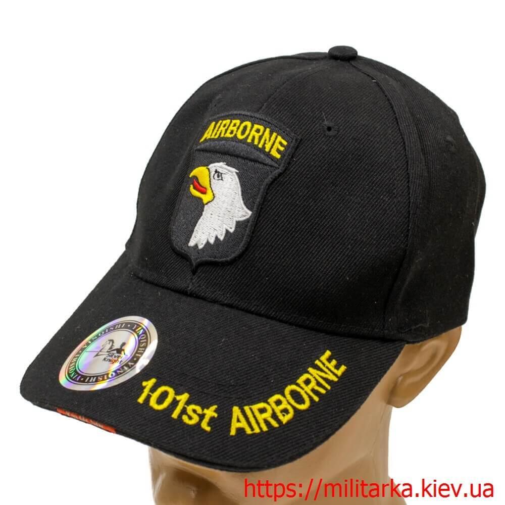 Кепка милитари Air Borne черная