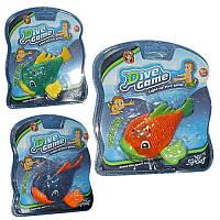 Игрушка для купания «Светящаяся рыбка» M 3510