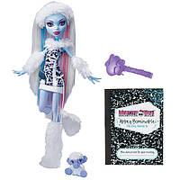 Кукла Монстер Хай Эбби Боминейбл Базовая с питомцем Monster High Abbey Bominable Doll Daughter of the Yeti