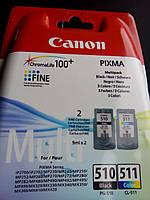 Canon PG-510+CL-511 MULTIPACK (2970B010) Струменевий картридж . оригінальний японський