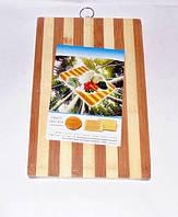 Дошка обробна бамбукова 20х30см