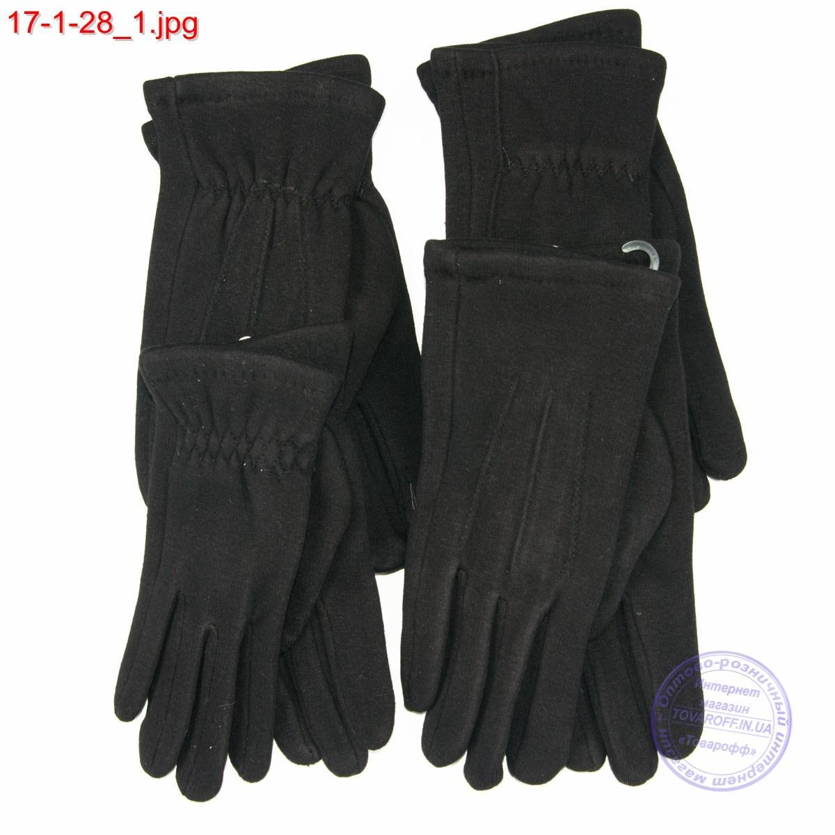Оптом мужские трикотажные перчатки для сенсорных телефонов - №17-1-28