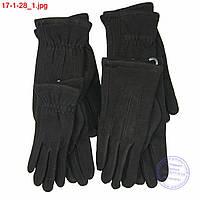 Оптом мужские трикотажные перчатки для сенсорных телефонов - №17-1-28, фото 1