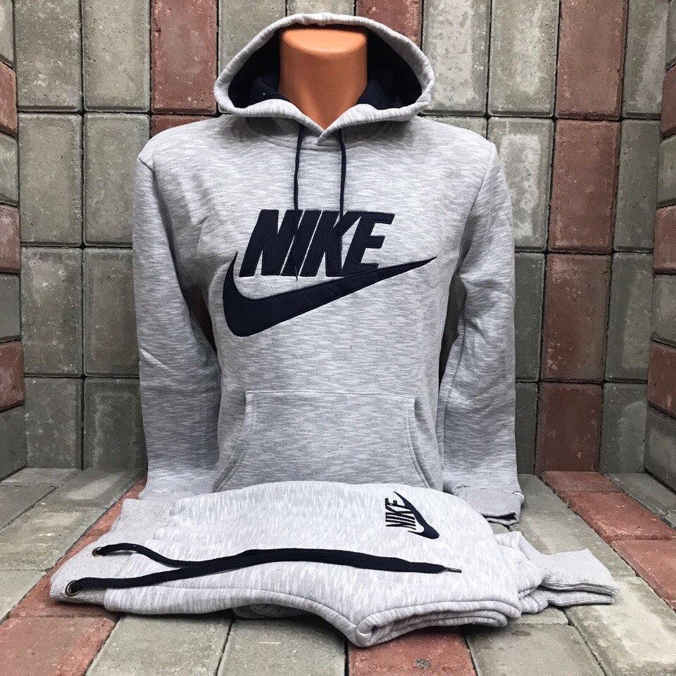 a9a96be69547 Мужской спортивный костюм Nike серый купить в Днепре, Украине ...