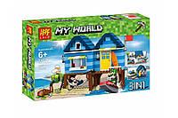 """Конструктор Minecraft Lele 33036 """"Отпуск у моря 3 в 1"""" (аналог Lego Creator 31063), 287 дет"""