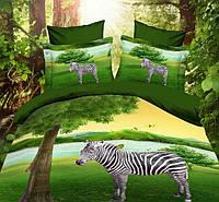 Евро комплект постельного белья ТМ «Kugulu» 3D в подарочной упаковке