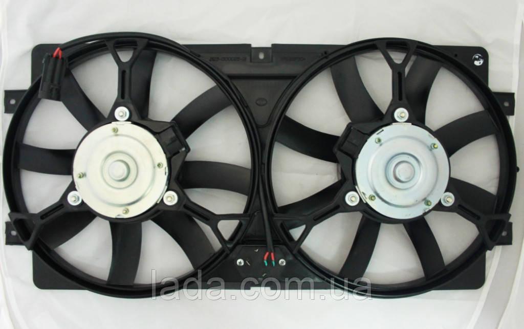 Диффузор охлаждения радиатора ВАЗ 2123, Нива Шевролет