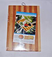 Дошка обробна бамбукова 22х32см