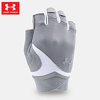 Женские перчатки для фитнеса Under Armour Flux UA Steel (серый)