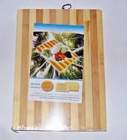 Дошка обробна бамбукова 24х34см