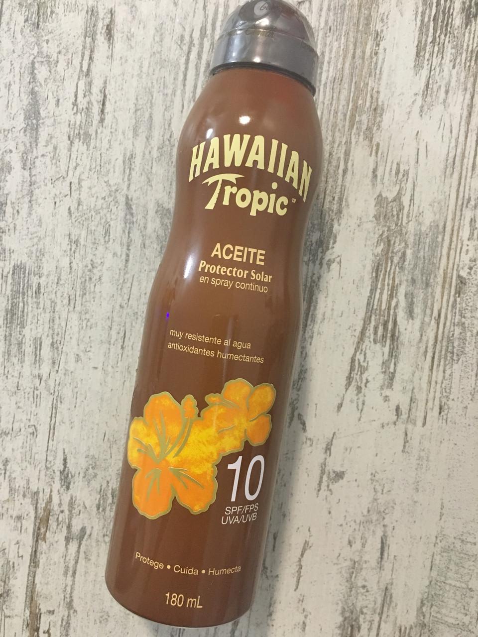 Солнцезащитный спрей для тела Hawaiian Tropic SPF10