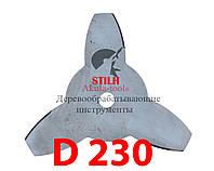 Диск для мотокосы 3-х лопастной STIHL 230мм