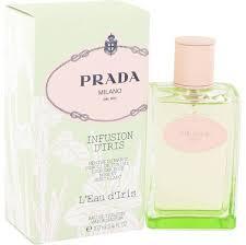 Духи женские Prada Infusion D'Iris L'Eau D'Iris(Прада Инфузион Дайриз  Лью Дайриз)