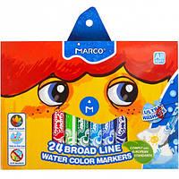 Фломастеры 24 цвета MARCO JUMBO