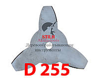 Диск для мотокосы 3-х лопастной STIHL 255мм