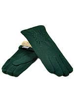 Перчатка Женская кашемир (ПЛ)д F12 мод1 зел