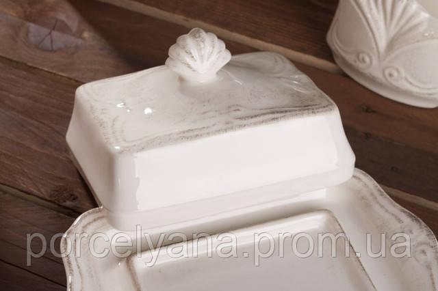 Масленка керамическая