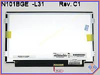 "Матрица для нетбука 10.1"" ChiMei N101BGE-L31 (1366*768, 40pin справа, LED Slim (ушки по бокам), Матовая)"