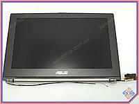 """Матрица с крышкой в сборе для ASUS UX21A LED Slim 11.6"""". Комплект (Крышка в сборе с матрицей, шлейфом и петлями). Цвет темно серый."""