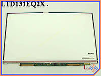 "Матрица 13.1"" Sony VGN-Z (Toshiba LTD131EQ2X) характеристики:  LED SLIM (1600*900, 30pin справа внизу, LED, SLIM (без планок и ушек), матовая)."