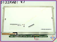 "Матрица 13.3"" AUO B133XW03 V.3(1366*768, 40Pin справа, LED Slim (Ушки по бокам), Глянцевая)."