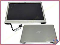 """Матрица с крышкой 13.3"""" Acer Aspire S3 ( B133XTF01.3 ) характеристики: 1366*768, 34pin, разъем справа внизу, Цвет Shampagne . (Комплект в сборе с"""