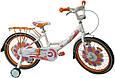 """Детский велосипед ARDIS LILLIES BMX 12""""  Белый/оранжевый , фото 2"""