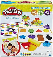 Игровой набор Hasbro Play-Doh Цвета и формы (B3404)