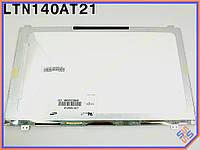 """Матрица для ноутбука 14.0"""" SAMSUNG LTN140AT21 (T01, T02, 001, 002) LED SLIM ( Глянцевая, 1366*768, 40 Pin слева внизу). Матрица для ноутбуков Samsung"""