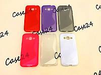 Силиконовый чехол Duotone для Samsung Galaxy J2 Duos J200 (6 цветов), фото 1
