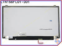 "Матрица для ноутбука 15.6"" SAMSUNG LTN156FL02-D01 LED Slim PLS (3840*2160 UltraHD, 40Pin eDP справа, ушки сверху-снизу, Матовая) Для Lenovo Y50-70"