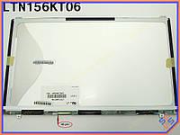 "Матрица для ноутбука 15.6"" SAMSUNG LTN156KT06 X01 (1600*900, 40Pin слева, LED Slim (ушки сверху-снизу), Матовая). Матрица для ноутбука SAmsung  серии."